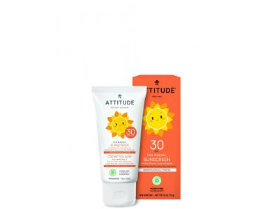 Attitude Little ones zonnebrandcreme vanille 75ml