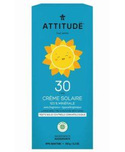 Attitude zonnebrandcreme 150ml verpakking