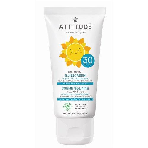 Attitude zonnebrand geurvrij 75ml