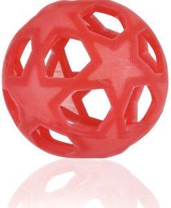 Hevea natuurrubber speelbal rood