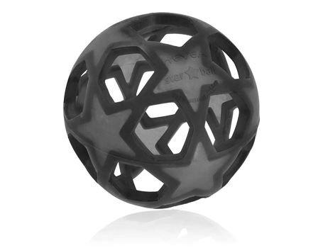 Hevea natuurrubber speelbal zwart