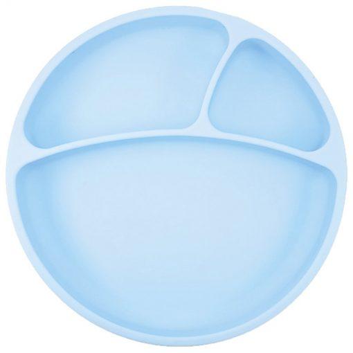 Minikoioi bord met zuignap blauw