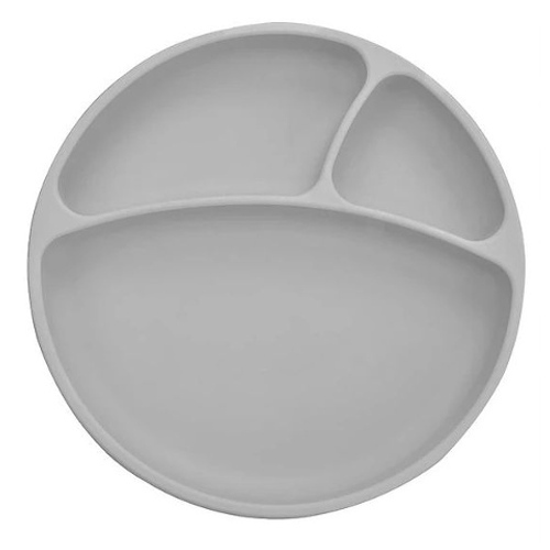 Minikoioi bord met zuignap grijs