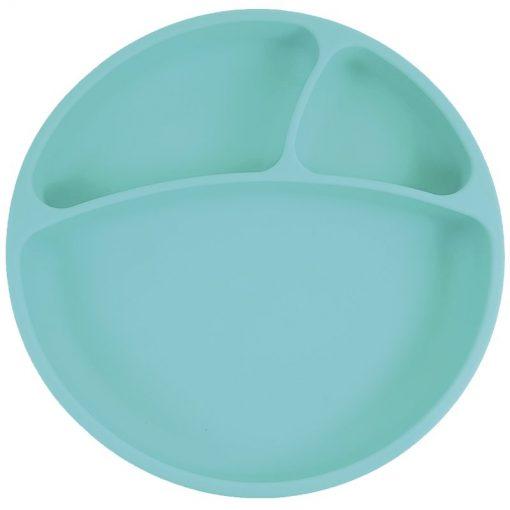 Minikoioi bord met zuignap groen