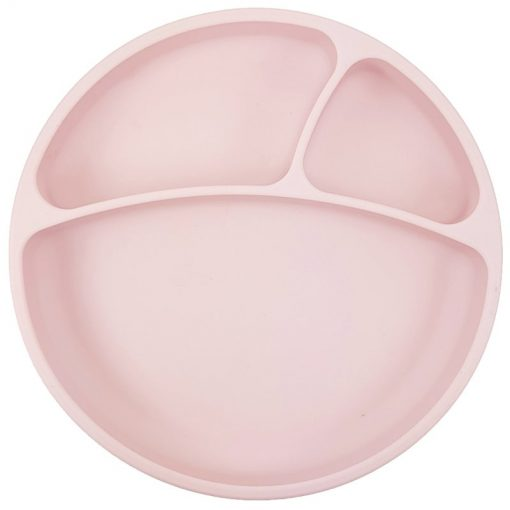 Minikoioi bord met zuignap roze