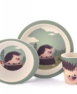 Yuunaa Kids - Bamboe Kinderservies - Egel