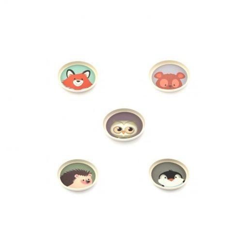 Yuunaa Kids - Bamboe bord in diverse prints