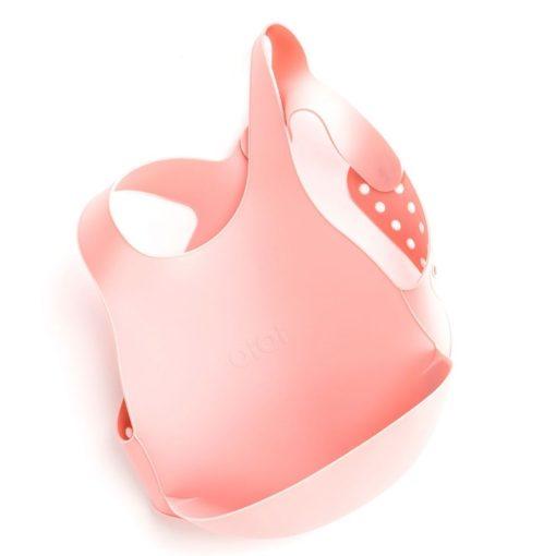 MinikOiOi Flexi Bib roze