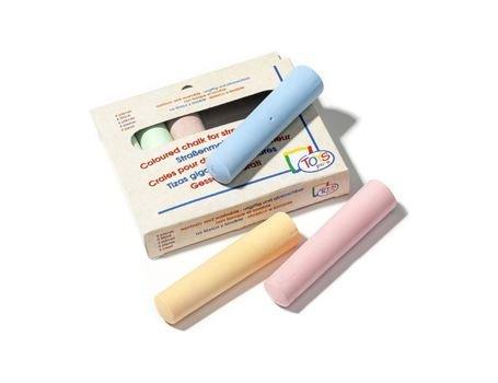 Memo Import Stoepkrijt 6 kleuren in doos