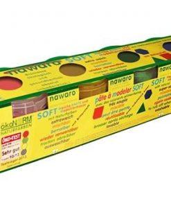 Oekonorm Boetseerklei - 4 kleuren - Rood, Geel, Groen en Blauw