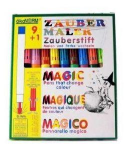 Oekonorm Magic pen 9 kleuren + 1 geheimschrijver