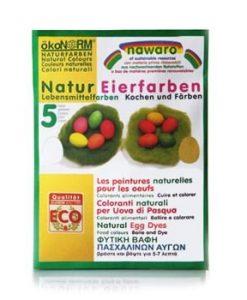 Oekonorm Paasei verf - 5 kleuren