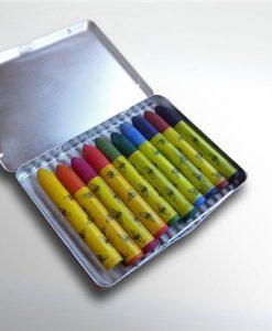 Oekonorm Pastel (was) krijtjes - metalen doos