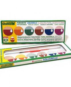Oekonorm Verfdoos 6 kleuren - Aquarel (water)