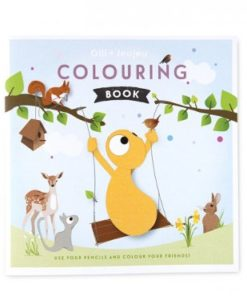 Olli en Jeujeu kleurboek