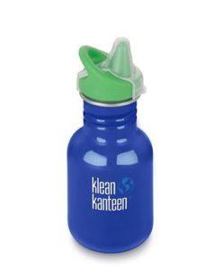 Klean Kanteen drinkbeker sippy blauw