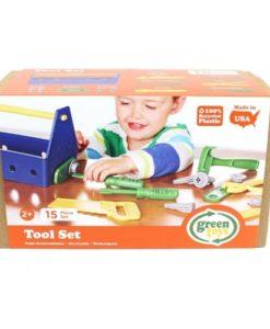 Green Toys 15-delige kinder klusset verpakking