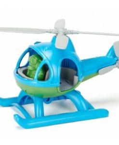 Green Toys speelgoed helikopter blauw