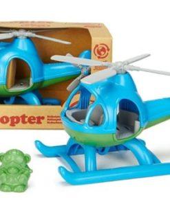 Green Toys helikopter blauw verpakking