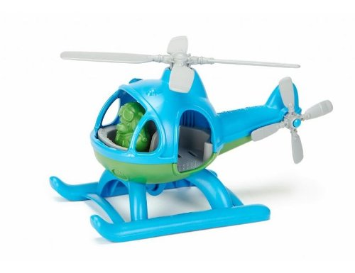 Green Toys speelgoed helikopter blauw