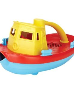 Green Toys speelgoed sleepboot geel