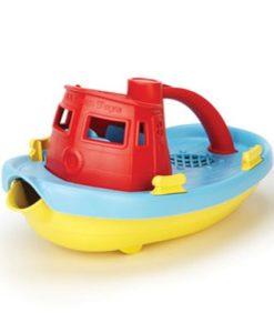 Green Toys sleepboot rood