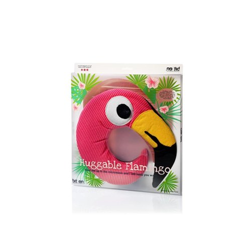 Flamingo pittenkussen - Bitten Design verpakking