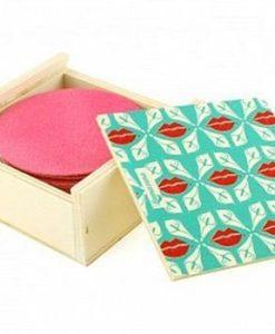 Lamazuna wasbare make-up verwijder pads 10st