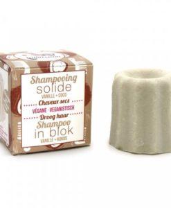 Lamazuna shampoo droog haar vanille kokos