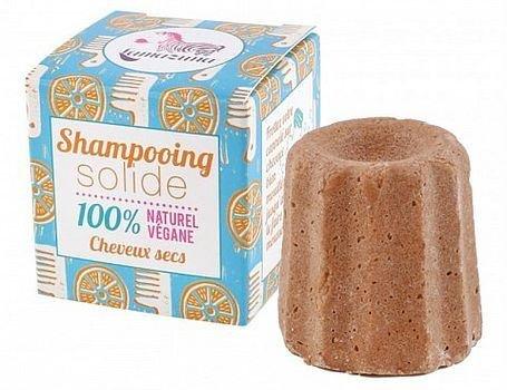Lamazuna shampoo blok voor droog haar sinaasappel