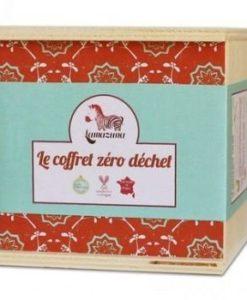 Zero waste geschenk doos rood verpakking