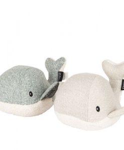 Flow - Moby de walvis groen en lichtgrijs