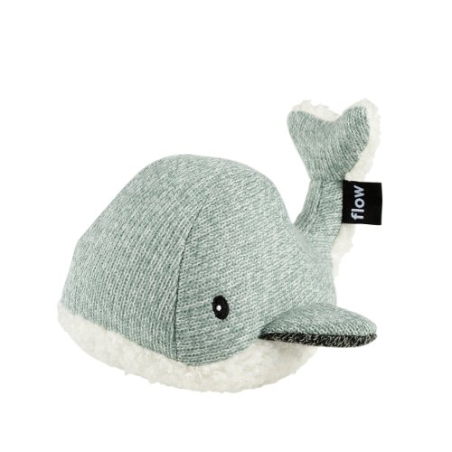 Moby de walvis groen zijkant