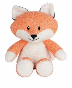 Robin de vos hartslag knuffel oranje voorkant