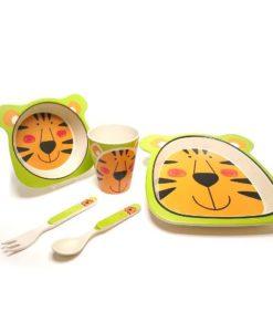 Eco-Import - Bamboe servies tijger