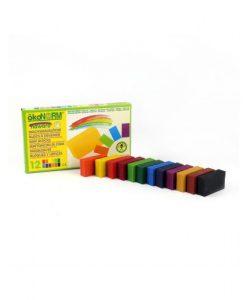 Oekonorm - Wax blokjes 12st kleuren