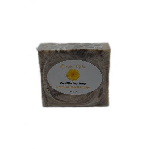 Sheepish Grins - Geitenmelkzeep Oatmeal, Milk & Honey
