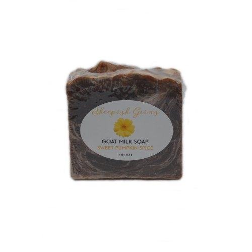 Sheepish Grins - Geitenmelkzeep Sweet Pumpkin Spice