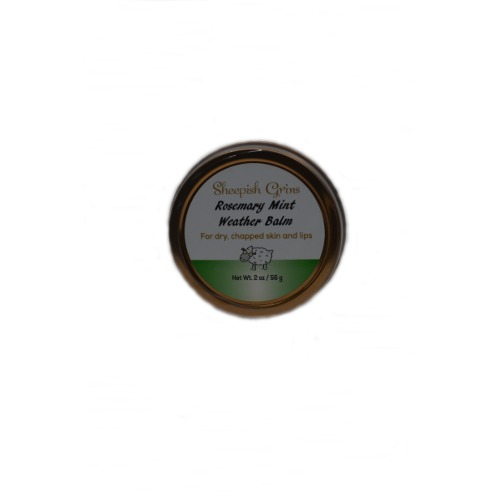 Sheepish Grins - Weather balm Rosemary mint