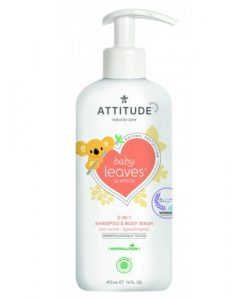Attitude Baby Leaves 2-in-1 Shampoo en Body Wash pear nectar
