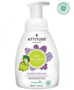 Attitude Baby Leaves handzeep vanille-peer