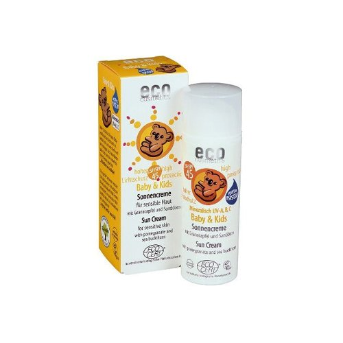 Eco Cosmetics - baby zonnebrand granaatappel SPF45