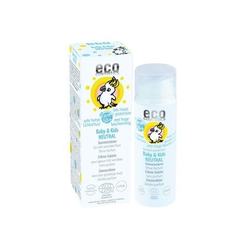 Eco Cosmetics - baby zonnebrand parfumvrij SPF50