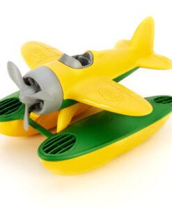 Green Toys - Watervliegtuig geel
