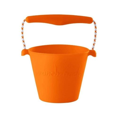 Scrunch opvouwbare speelgedemmer oranje