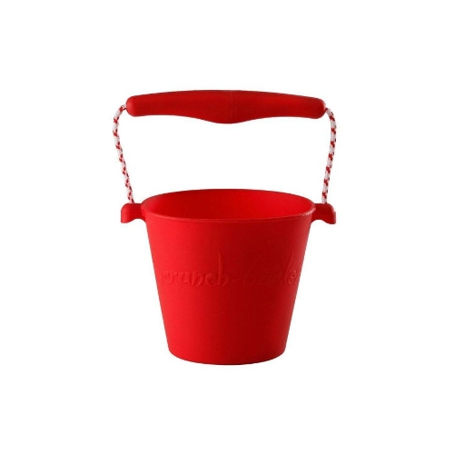 Scrunch opvouwbare speelgedemmer rood