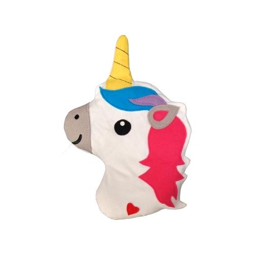 Eenhoorn hoofd pittenkussen - Bitten Design