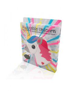 Eenhoorn hoofd pittenkussen verpakking - Bitten Design