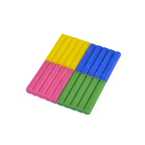 Bijenwas klei roze groen geel blauw - Les Jouets Libres