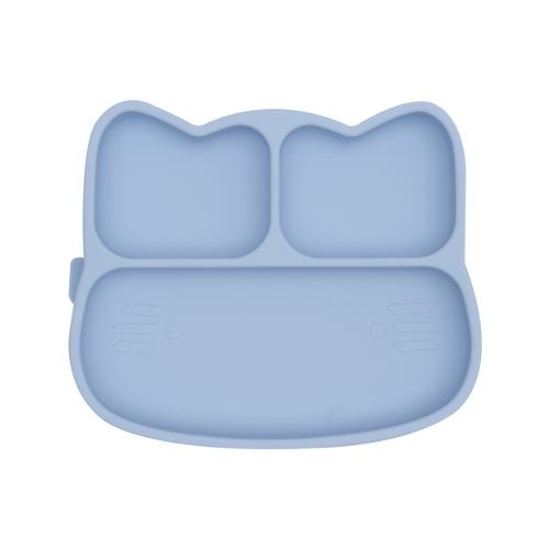 We Might Be Tiny - Stickie Plate Kat Powder Blue